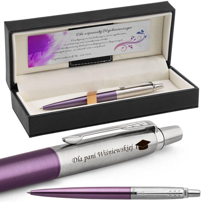 Długopis Parker Jotter CT Victoria Violet z Grawerem
