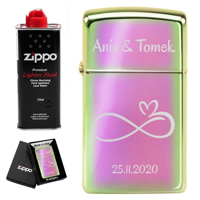 Zapalniczka Zippo Z20493 Slim Spectrum Benzyna Grawer