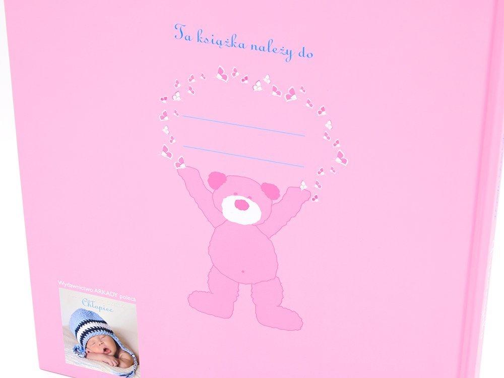 Dziewczynka. Album mojego dziecka. Prezent z okazji narodzenia dziecka z GRAWEREM