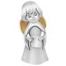 Figurka aniołka ze zwojem, posrebrzana z Dedykacją 3
