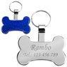 Identyfikator dla psa niebieska kość Grawer 1