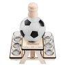 Komplet do alkoholu 7-częściowy Karafka i kieliszki piłka futbolowa z Grawerem 1
