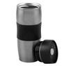 Kubek termiczny 350 ml Grafitowy Metaliczny Grawer 1