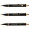 Oryginalny Długopis Parker IM Czarny GT z Gawerunkiem 1