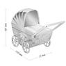 Skarbonka dla dziecka wózek - prezent na Chrzest, Baby Shower, Roczek   z Grawerem 6