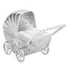 Skarbonka dla dziecka wózek - prezent na Chrzest, Baby Shower, Roczek   z Grawerem 5
