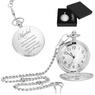 Zegarek kieszonkowy męski na prezent z Grawerem 1
