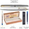 Zestaw Pióro i Długopis Parker Jotter stalowe GT z Grawerem  3