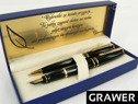 Zestaw Pióro wieczne i Długopis Waterman Expert Czarny GT z grawerem 1