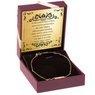 Złota bransoletka pr. 585  Nieskończoność z blaszką GRAWER złota kokardka 2