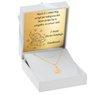 Złoty medalik z łańcuszkiem próba 333 z wizerunkiem Matki Boskiej Chrzest Komunia Bierzmowanie GRAWER 2